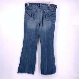 Citizens of Humanity Size 29 Raw Hem Denim Jeans